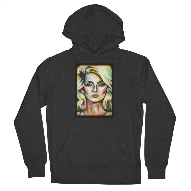 Blondie Men's French Terry Pullover Hoody by amybelonio's Artist Shop