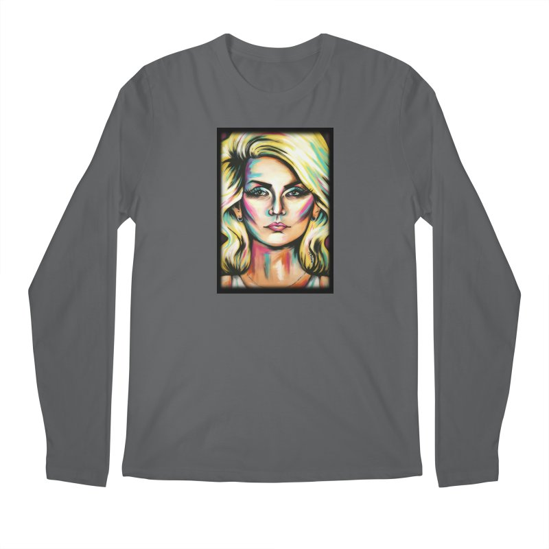 Blondie Men's Regular Longsleeve T-Shirt by amybelonio's Artist Shop