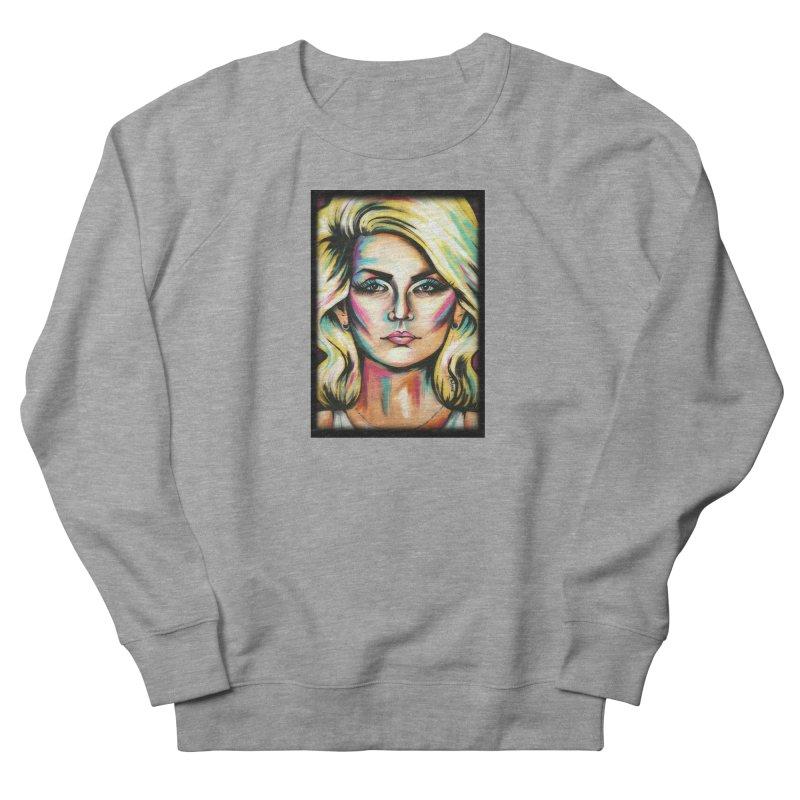 Blondie Women's French Terry Sweatshirt by amybelonio's Artist Shop