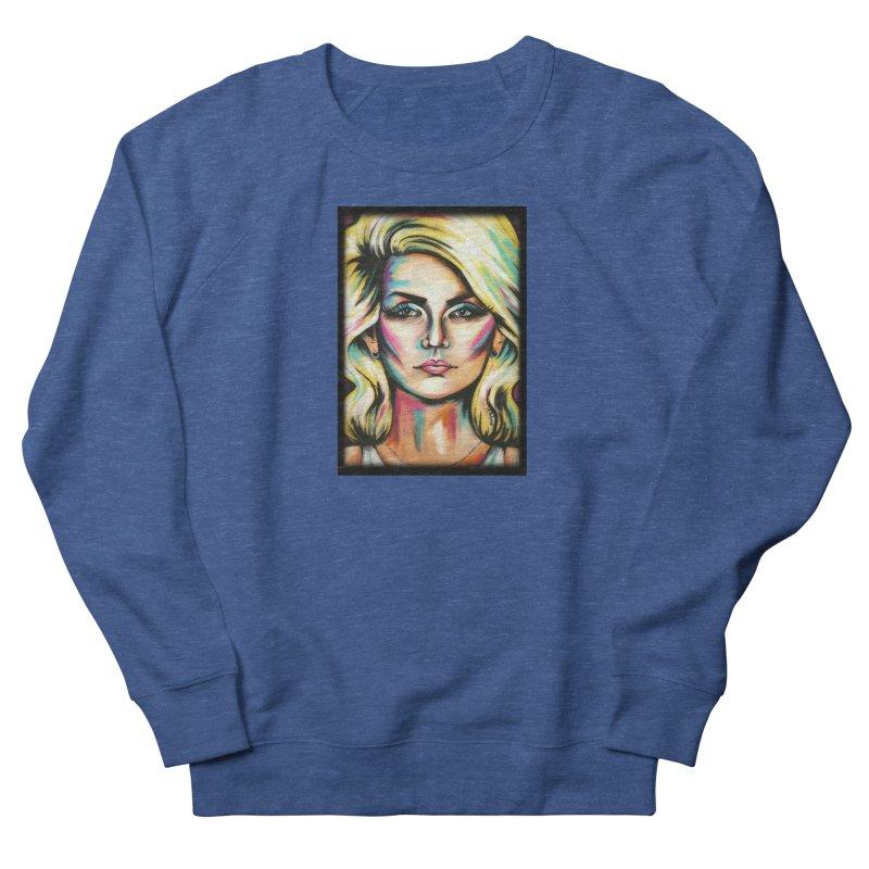 Blondie Men's French Terry Sweatshirt by amybelonio's Artist Shop