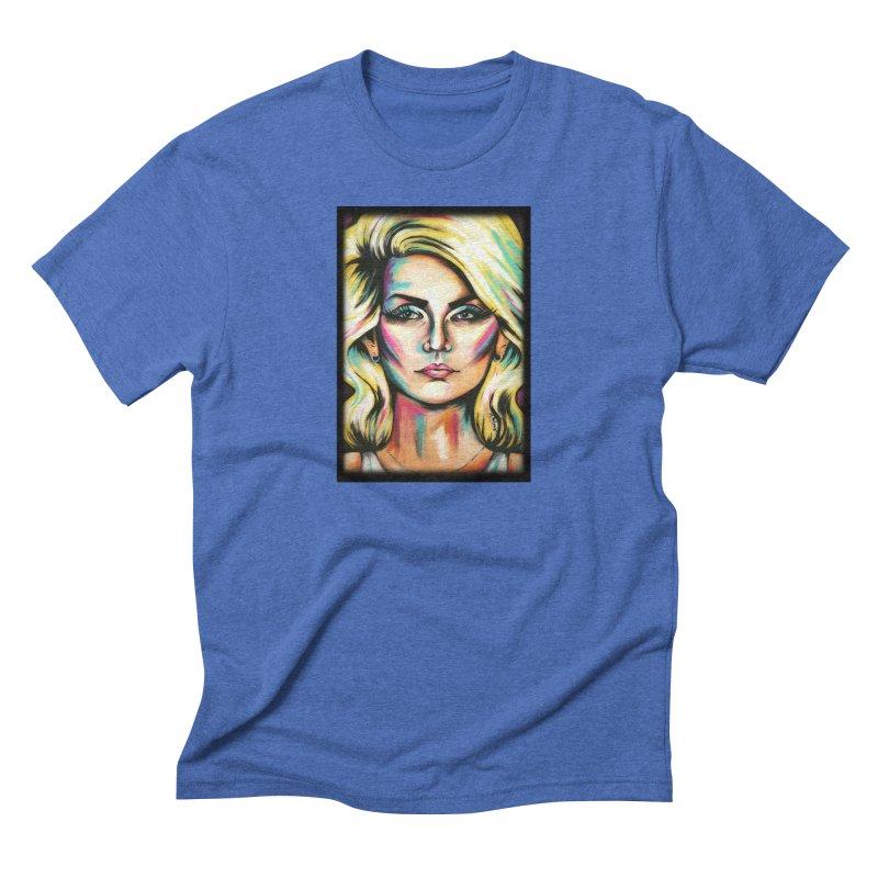 Blondie Men's Triblend T-Shirt by amybelonio's Artist Shop
