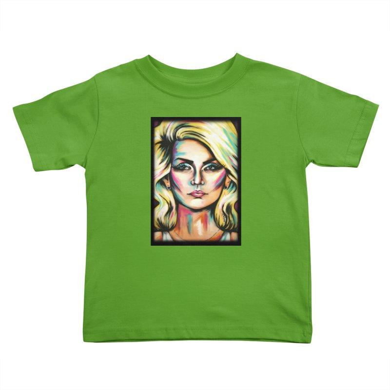 Blondie Kids Toddler T-Shirt by amybelonio's Artist Shop