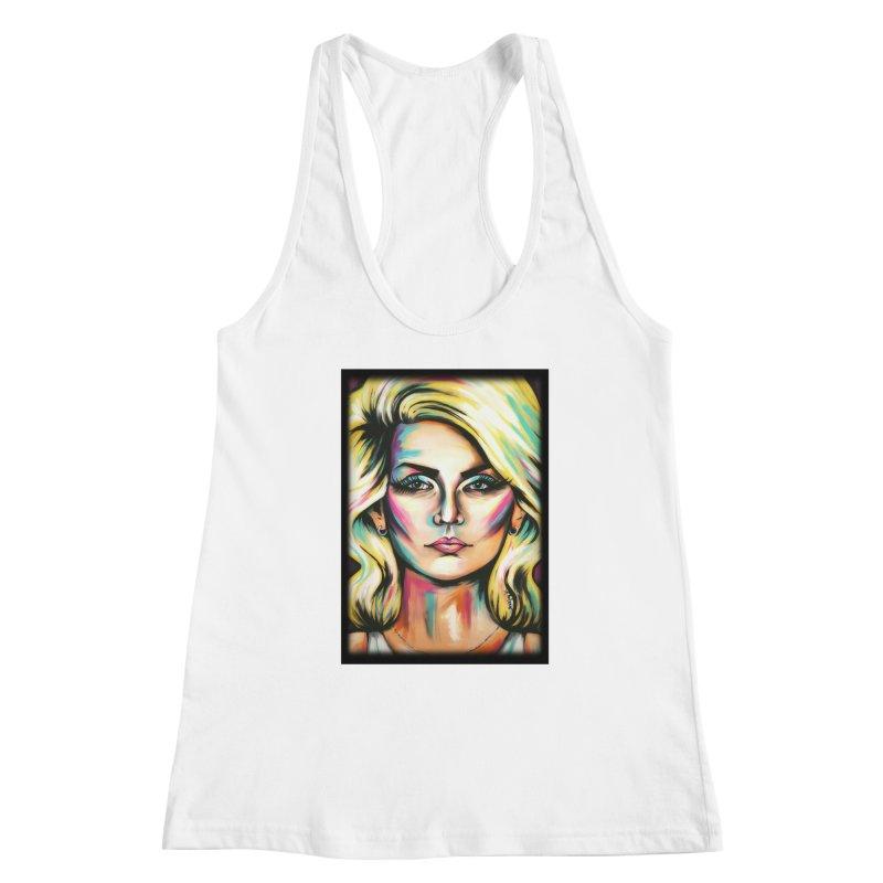 Blondie Women's Racerback Tank by amybelonio's Artist Shop