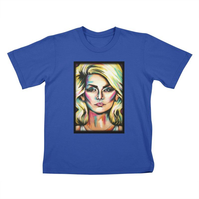 Blondie Kids T-Shirt by amybelonio's Artist Shop