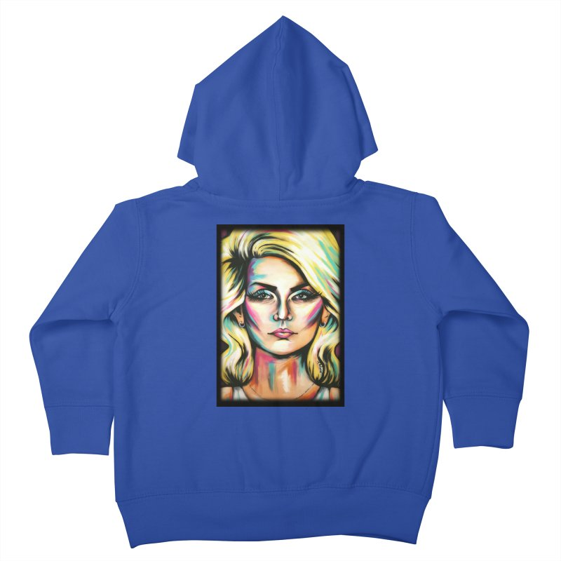 Blondie Kids Toddler Zip-Up Hoody by amybelonio's Artist Shop