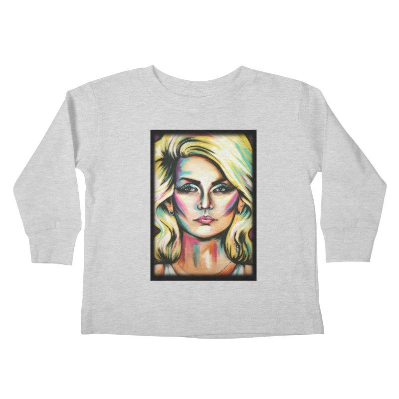 Blondie Kids Toddler Longsleeve T-Shirt by amybelonio's Artist Shop