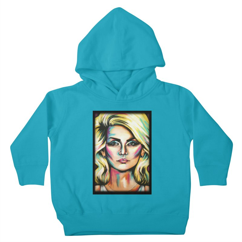 Blondie Kids Toddler Pullover Hoody by amybelonio's Artist Shop