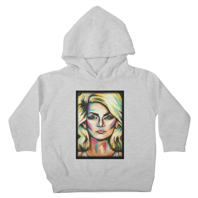 Blondie Kids Toddler Pullover Hoody by amybelonio's Artist Shop
