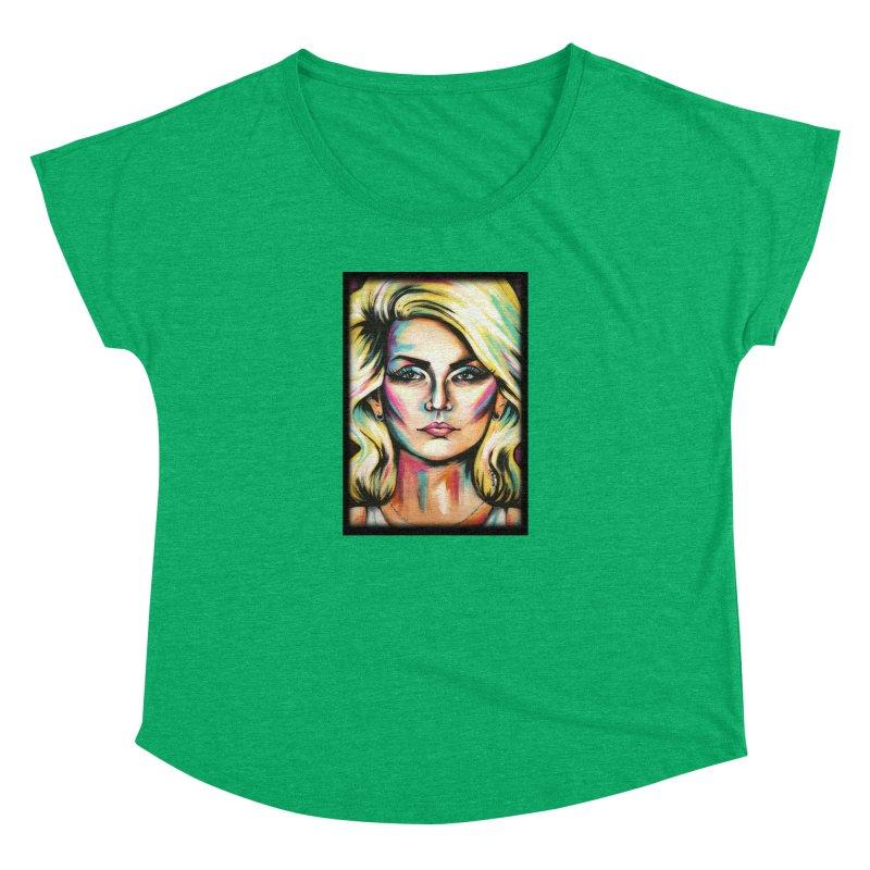 Blondie Women's Dolman Scoop Neck by amybelonio's Artist Shop