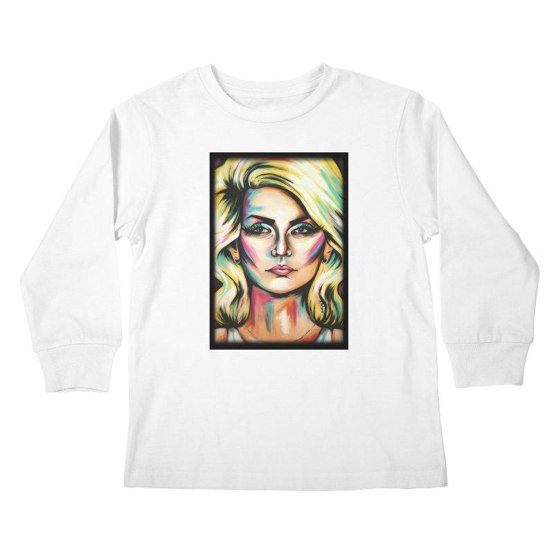 Blondie Kids Longsleeve T-Shirt by amybelonio's Artist Shop