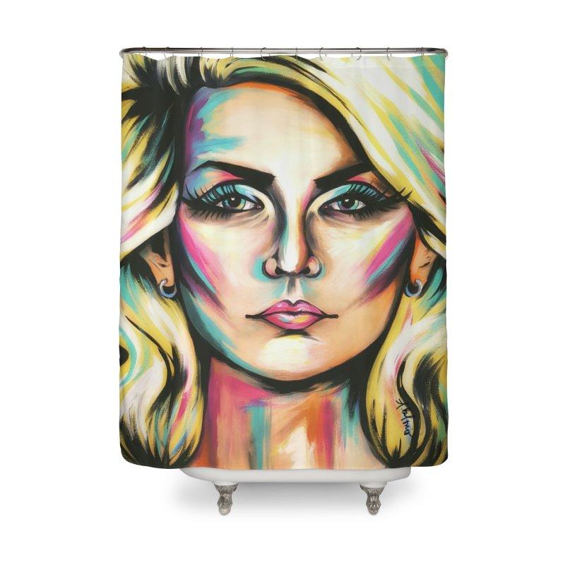 Blondie Home Shower Curtain by amybelonio's Artist Shop