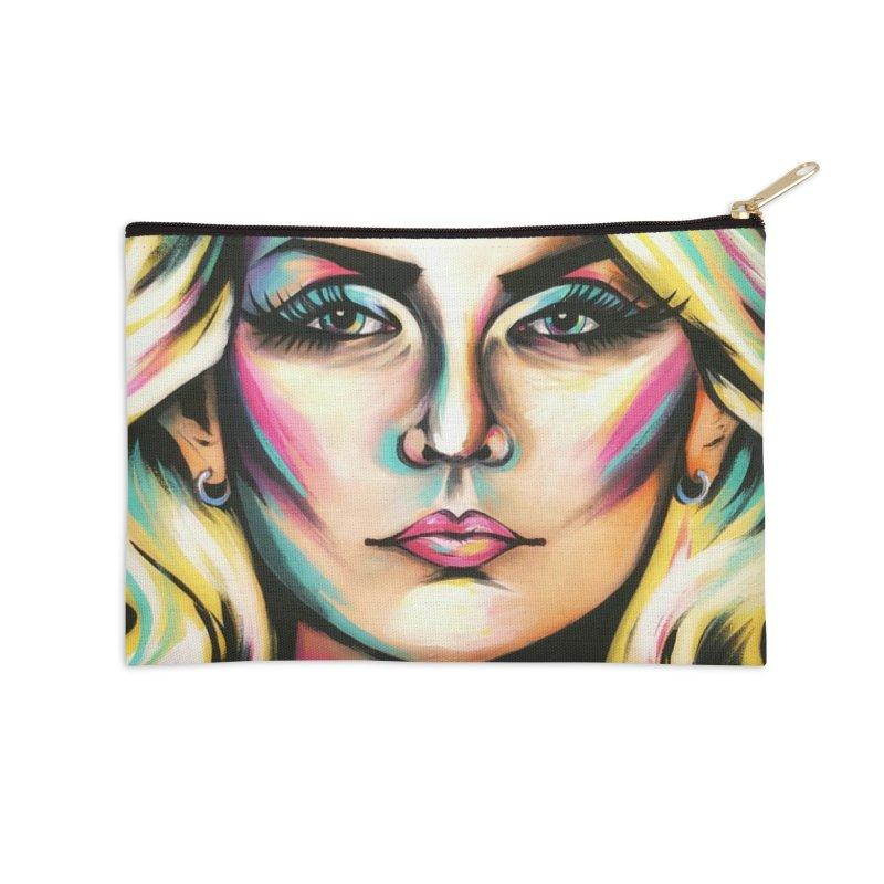 Blondie Accessories Zip Pouch by amybelonio's Artist Shop