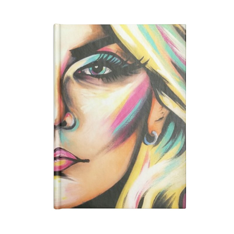 Blondie Accessories Lined Journal Notebook by amybelonio's Artist Shop