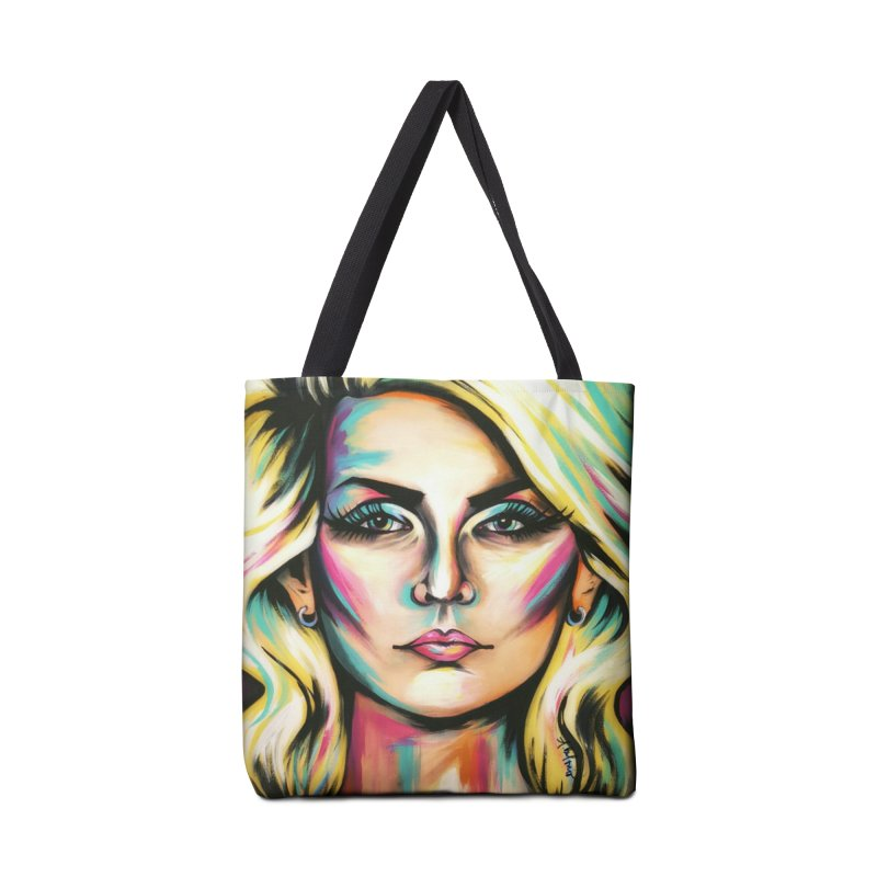 Blondie Accessories Bag by amybelonio's Artist Shop