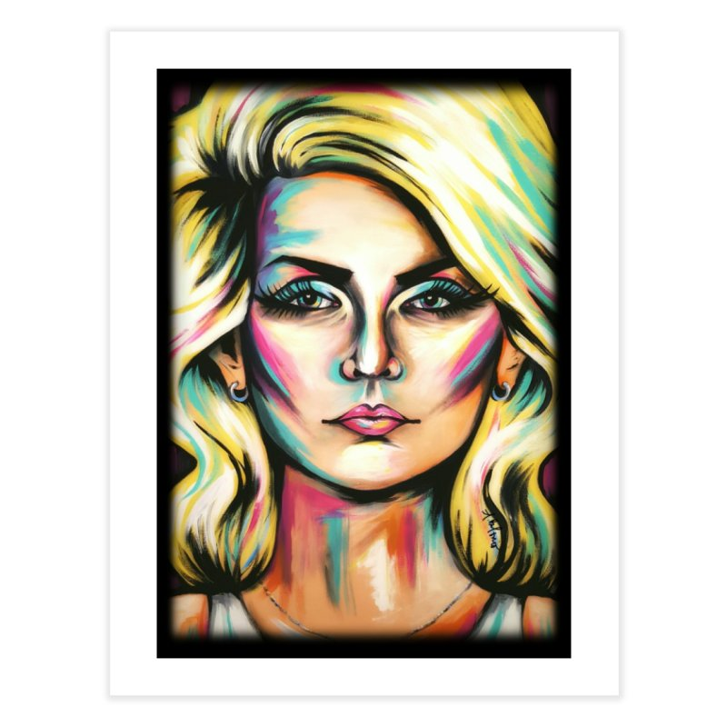 Blondie Home Fine Art Print by amybelonio's Artist Shop