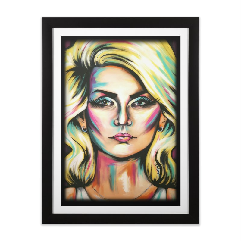 Blondie Home Framed Fine Art Print by amybelonio's Artist Shop