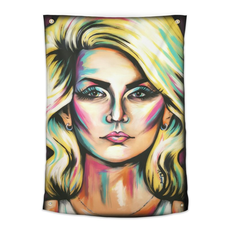 Blondie Home Tapestry by amybelonio's Artist Shop