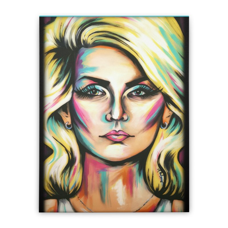 Blondie Home Stretched Canvas by amybelonio's Artist Shop