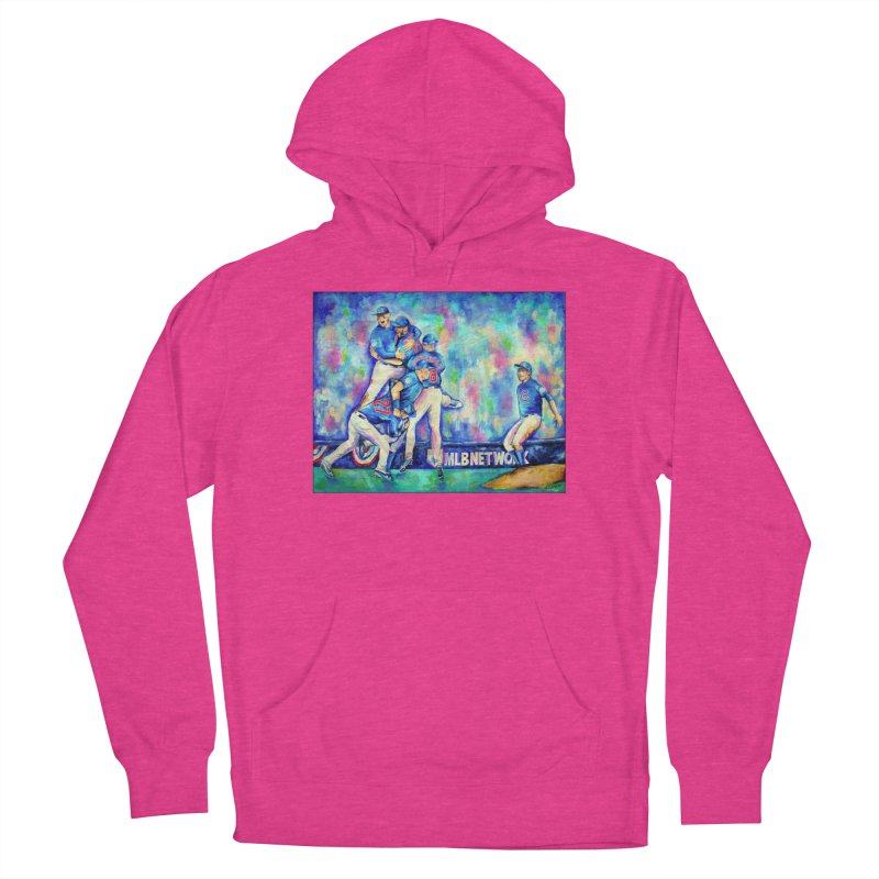 Go Cubs Go Women's French Terry Pullover Hoody by amybelonio's Artist Shop