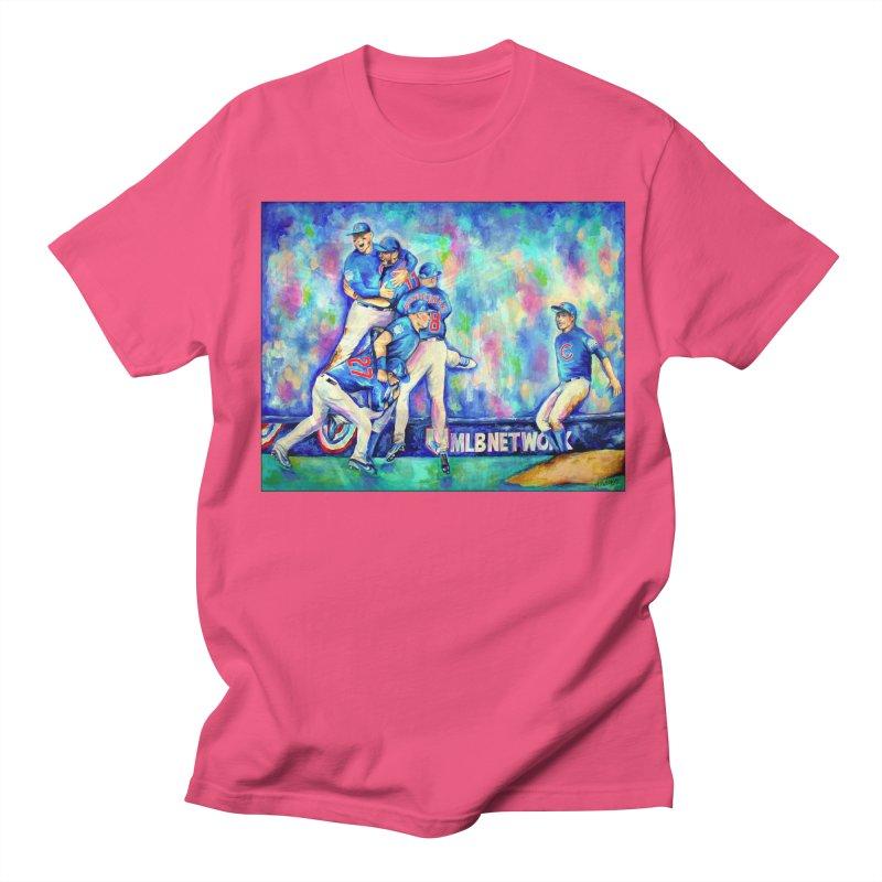 Go Cubs Go Women's Regular Unisex T-Shirt by amybelonio's Artist Shop