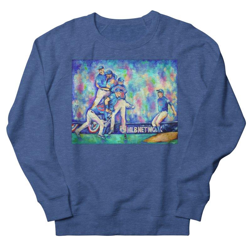 Go Cubs Go Men's Sweatshirt by amybelonio's Artist Shop