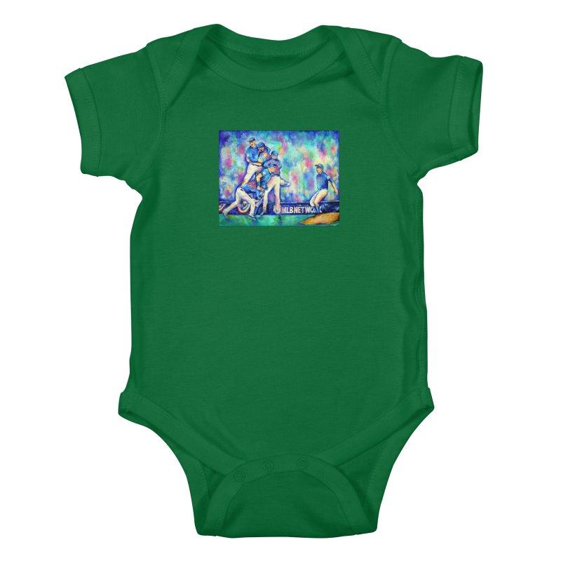 Go Cubs Go Kids Baby Bodysuit by amybelonio's Artist Shop