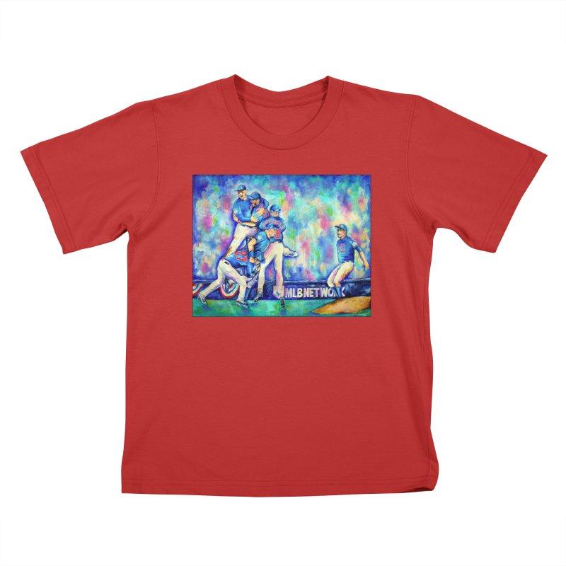 Go Cubs Go Kids T-Shirt by amybelonio's Artist Shop
