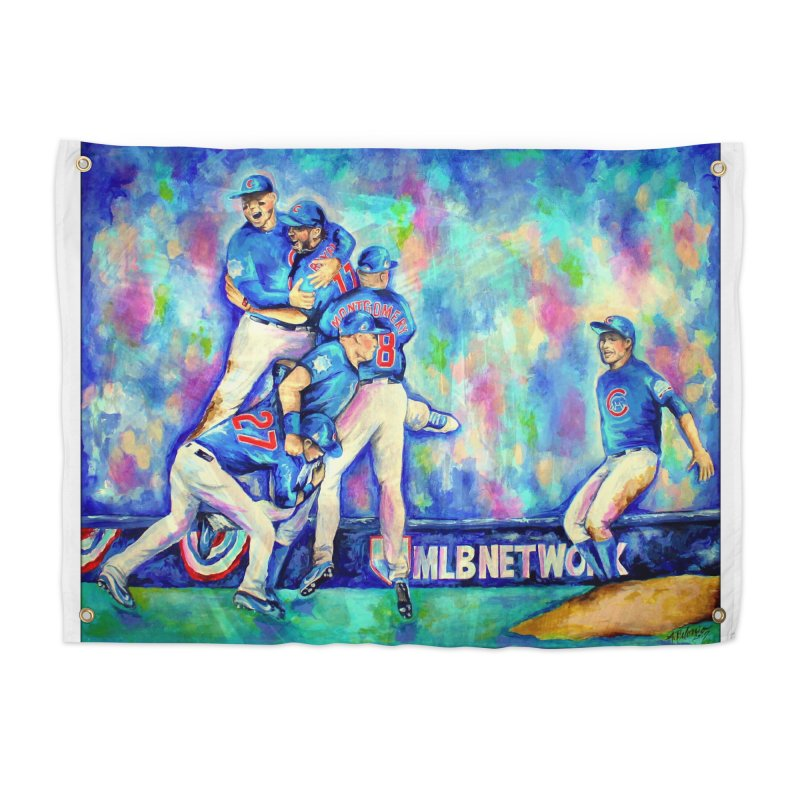 Go Cubs Go Home Tapestry by amybelonio's Artist Shop