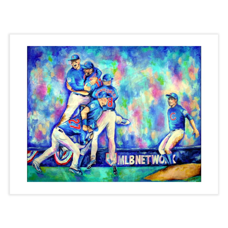 Go Cubs Go Home Fine Art Print by amybelonio's Artist Shop