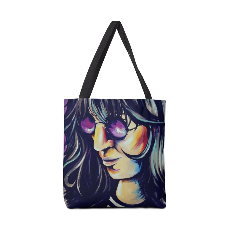 Joey Ramone Accessories Tote Bag Bag by amybelonio's Artist Shop