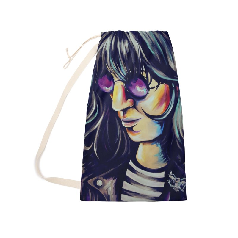 Joey Ramone Accessories Bag by amybelonio's Artist Shop