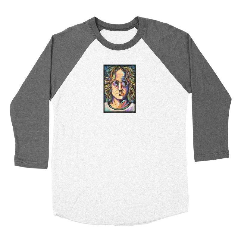 John Lennon Women's Longsleeve T-Shirt by amybelonio's Artist Shop