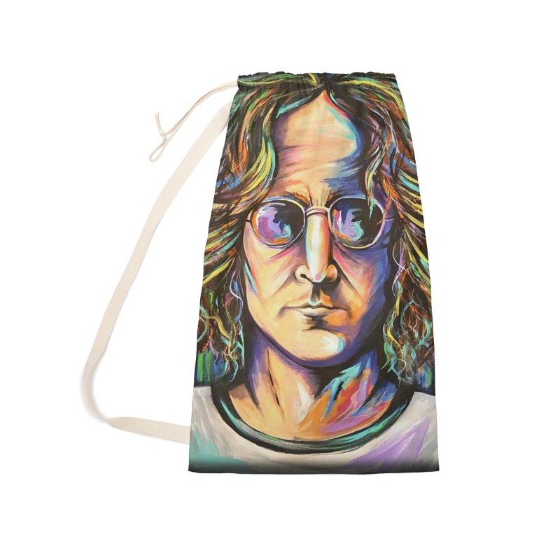 John Lennon Accessories Bag by amybelonio's Artist Shop