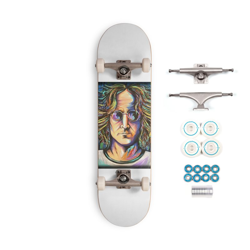 John Lennon Accessories Complete - Basic Skateboard by amybelonio's Artist Shop