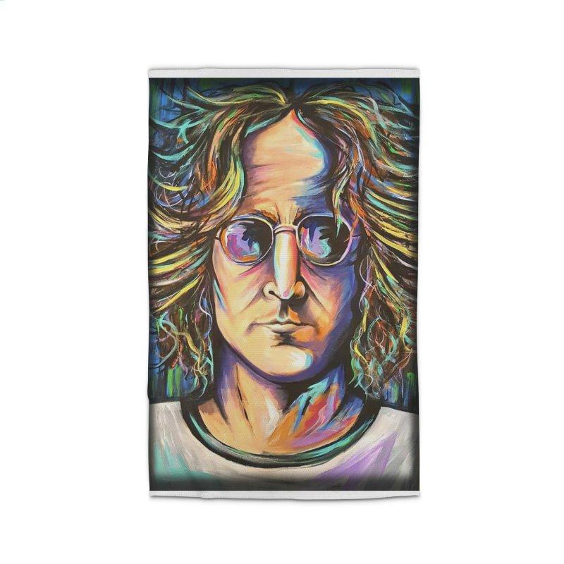 John Lennon Home Rug by amybelonio's Artist Shop