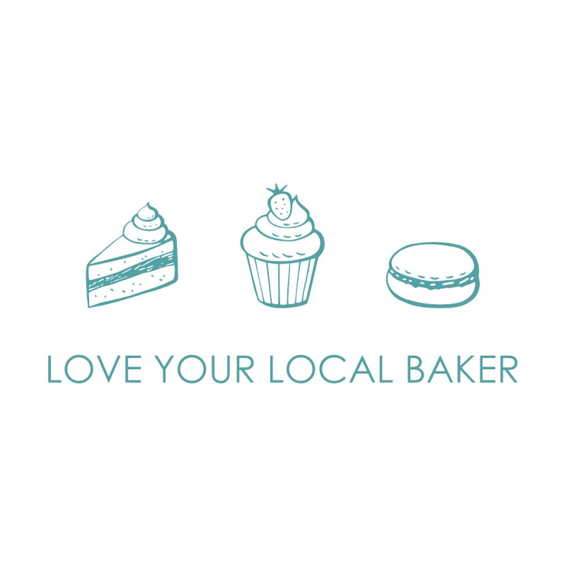 Local Baker by Amy's Cupcake Shoppe Artist Shop