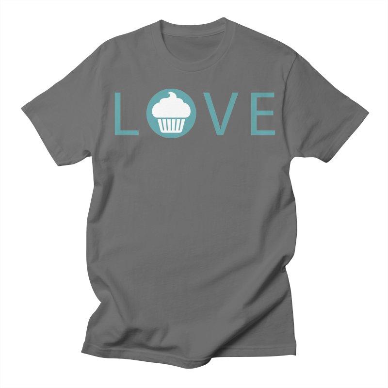 Love Men's T-Shirt by Amy's Cupcake Shoppe Artist Shop