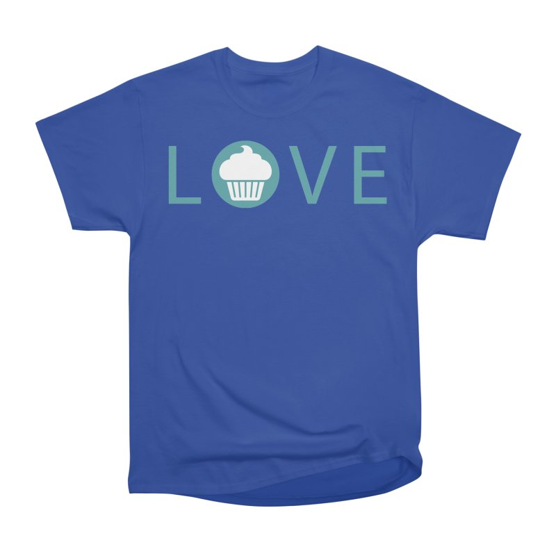 Love Men's Heavyweight T-Shirt by Amy's Cupcake Shoppe Artist Shop