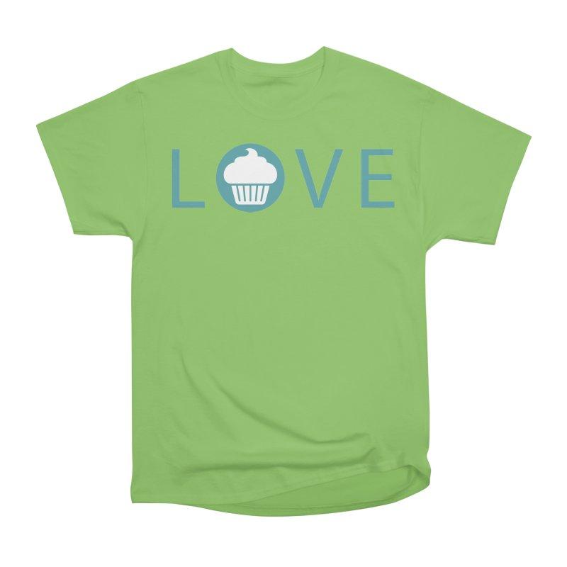 Love Women's Heavyweight Unisex T-Shirt by Amy's Cupcake Shoppe Artist Shop
