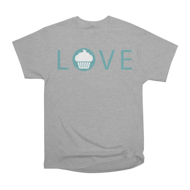 Love Women's Heavyweight Unisex T-Shirt by Amy's Cupcake Shoppe Artist Shop