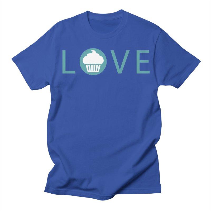 Love Men's Regular T-Shirt by Amy's Cupcake Shoppe Artist Shop