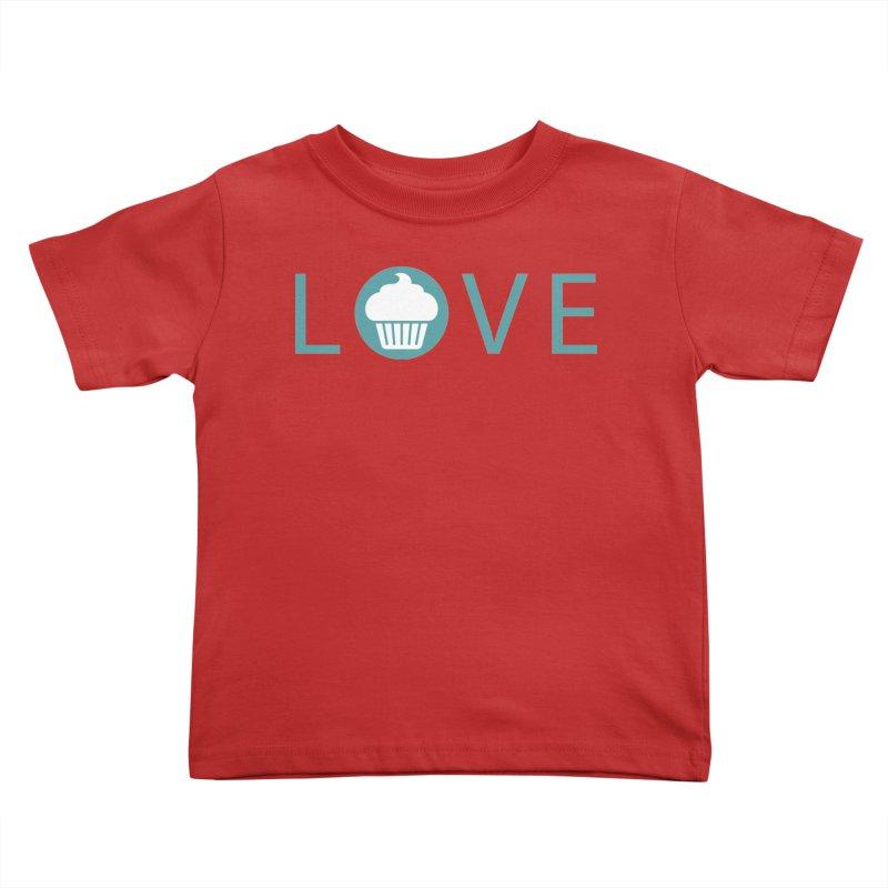 Love Kids Toddler T-Shirt by Amy's Cupcake Shoppe Artist Shop