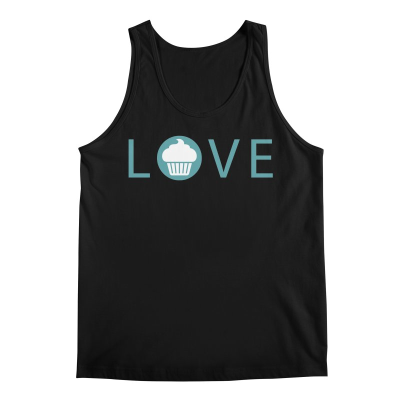 Love Men's Regular Tank by Amy's Cupcake Shoppe Artist Shop
