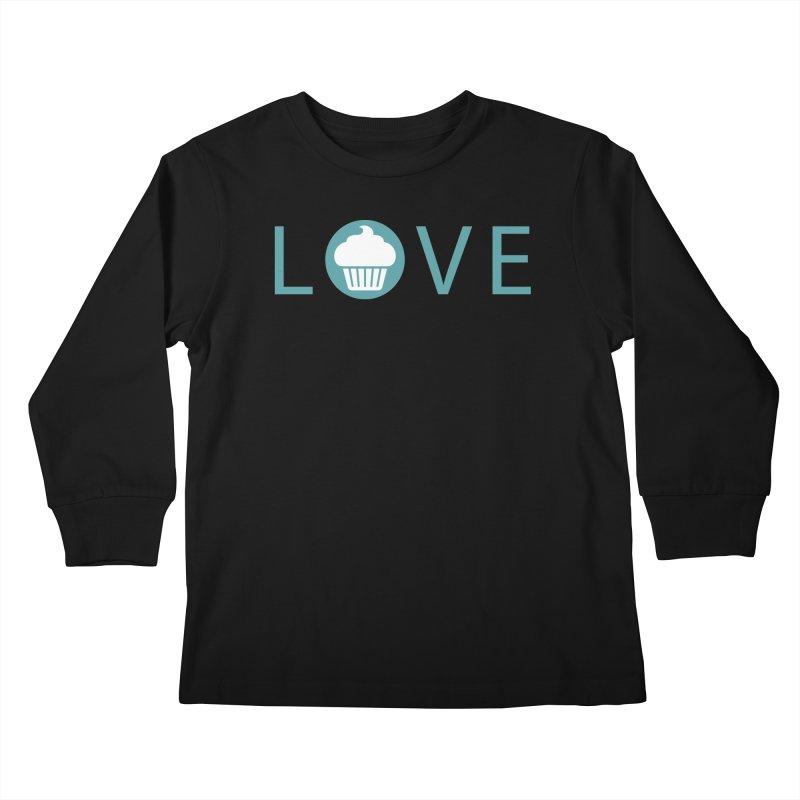 Love Kids Longsleeve T-Shirt by Amy's Cupcake Shoppe Artist Shop