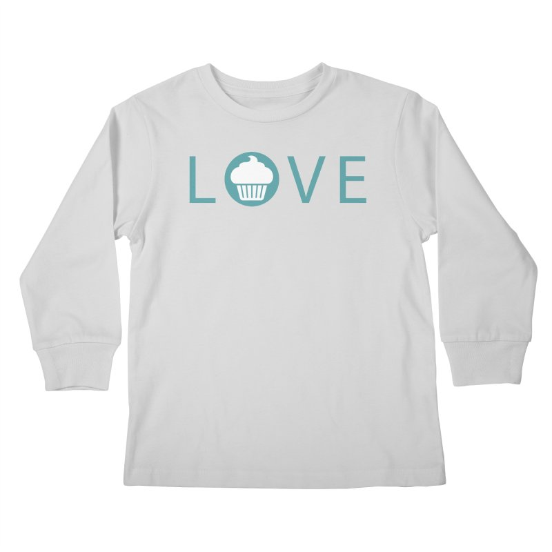 Love Kids Longsleeve T-Shirt by Amy's Cupcake Shoppe Artist Shop