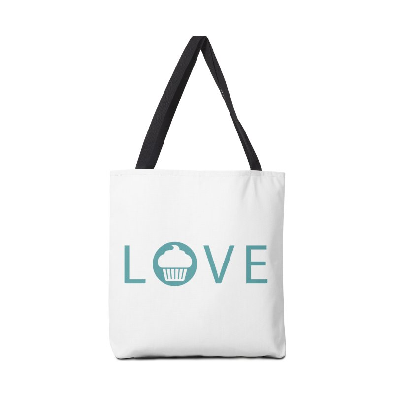 Love Accessories Tote Bag Bag by Amy's Cupcake Shoppe Artist Shop