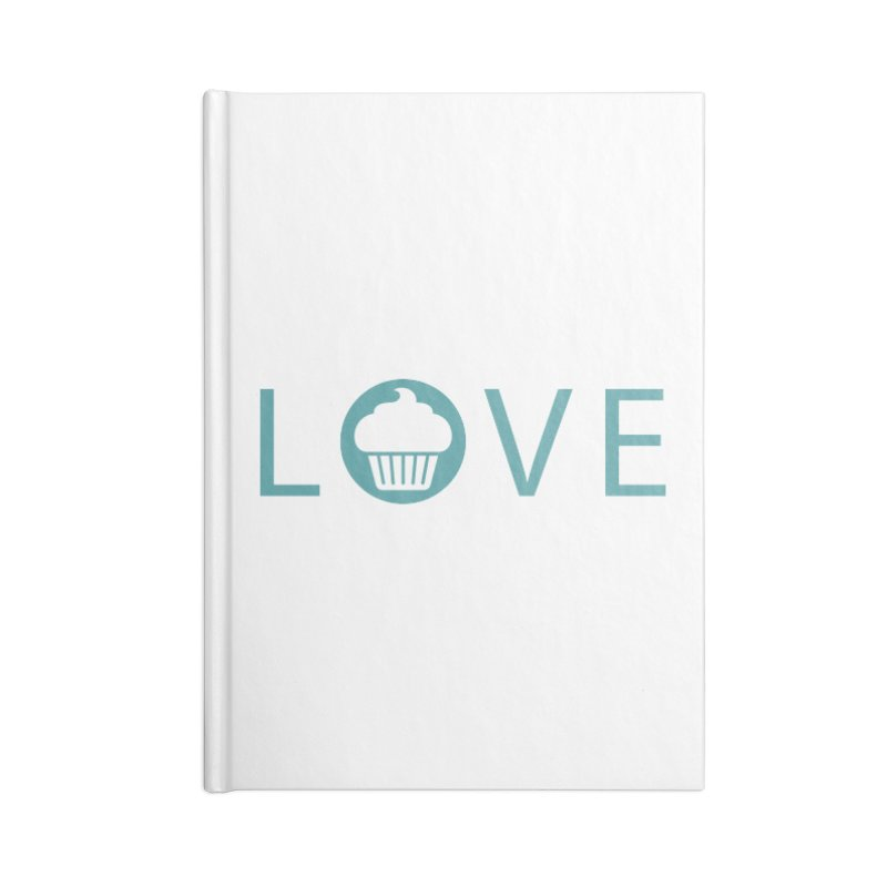 Love Accessories Lined Journal Notebook by Amy's Cupcake Shoppe Artist Shop
