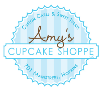Amy's Cupcake Shoppe Artist Shop Logo