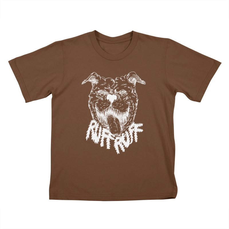 Ruff Doggie Kids T-shirt by anabenaroya's Artist Shop