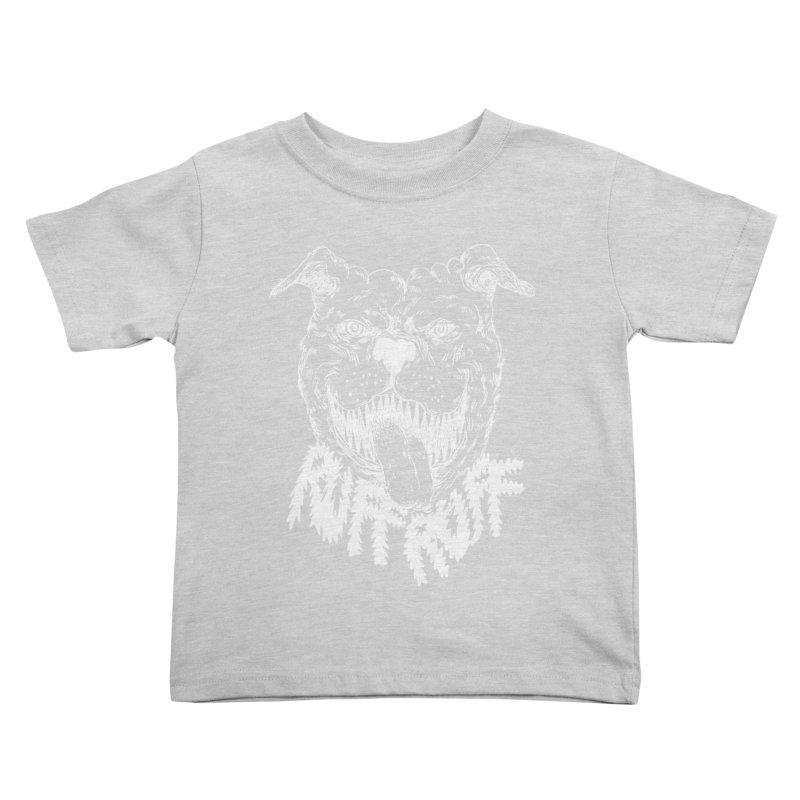 Ruff Doggie Kids Toddler T-Shirt by anabenaroya's Artist Shop